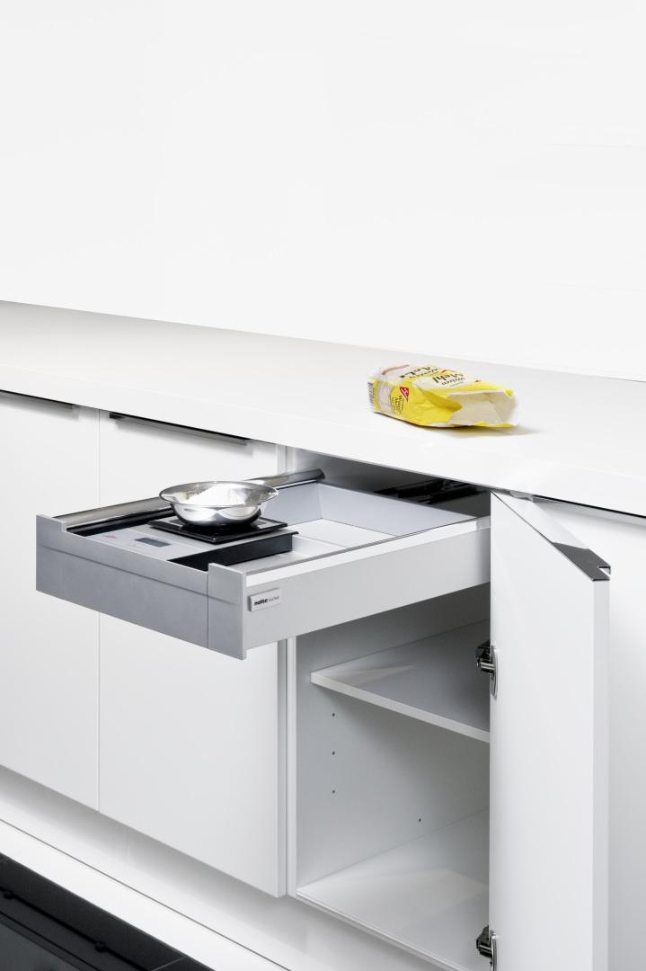 Cuisine rangements et meubles astucieux cuisine nolte for Meubles cuisine integree
