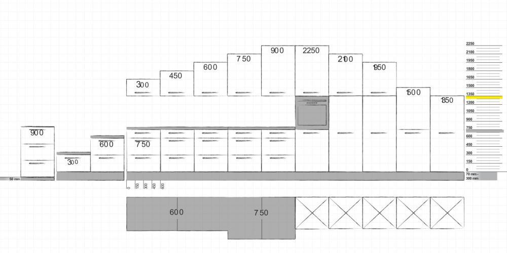 am nagement cuisine de luxe mod le matrix 150 cuisine nolte. Black Bedroom Furniture Sets. Home Design Ideas